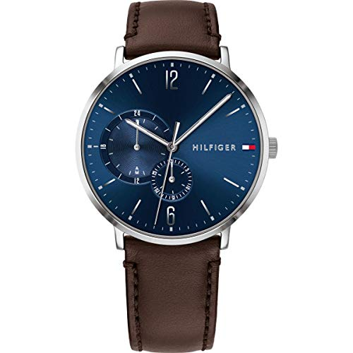 1791508 Tommy Hilfiger Brooklyn Multi-Function Mens Analog Blue Casual Quartz Tommy Hilfiger