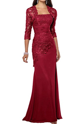 Blau Elegant Satin Damen Lang Charmant Dunkel Rot Promkleider Schnitt Abendkleider Partykleider Brautmutterkleider Schmaler pE6qRxRn