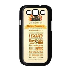 LSQDIY(R) The Hunger Games Catching Fire Samsung Galaxy S3 I9300 Case, Custom Samsung Galaxy S3 I9300 Phone Case The Hunger Games Catching Fire