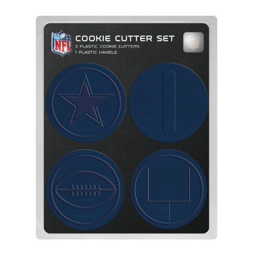 NFL Dallas Cowboys Officially Licensed Set of Cookie Cutters