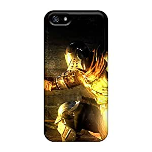AnnaDubois Iphone 5/5s Bumper Hard Phone Covers Custom High Resolution Dark Souls Image [GNg681VSty]