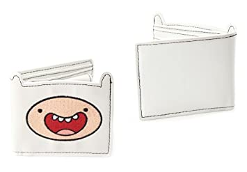 Adventure Time Bi-fold cartera monedero cartera Finn Bioworld (blanco): Amazon.es: Juguetes y juegos