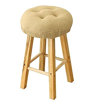 Olywell 12u0026quot; Round (31cm) Bar Stool Cover, Breathable Fabric To Protect  Or