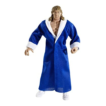 Image of Action Figures & Toy Figurines WWE Collector Legends Kerry Von Erich With Blue Robe Figure - Series #6