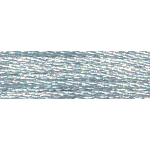 Dmc Light Effects Embroidery Floss - DMC 317W-E415 Light Effects Polyster Embroidery Floss, 8.7-Yard, Pewter