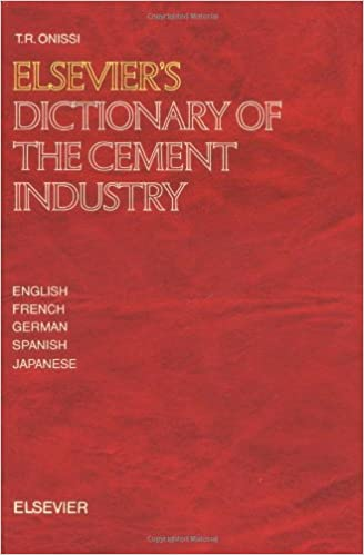 Book Elsevier's Dictionary of the Cement Industry (English, French, German, Spanish, Japanese)