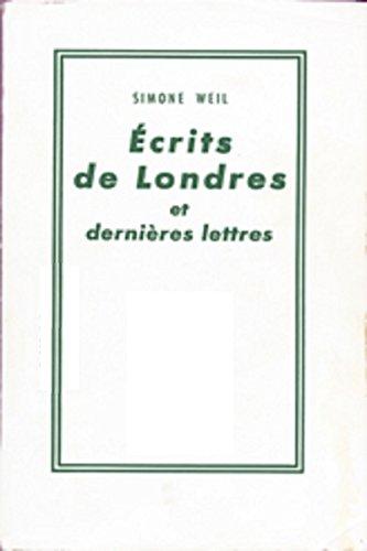 [D.o.w.n.l.o.a.d] ÉCRITS DE LONDRES et dernières lettres (French Edition) TXT
