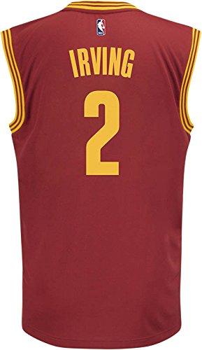 Adidas NBA Cleveland Cavaliers Kyrie Irving # 2 la réplica de la Camiseta de los Hombres, NBA, Kyrie Irving, Hombre, Color Road, tamaño XX-Large: Amazon.es: ...