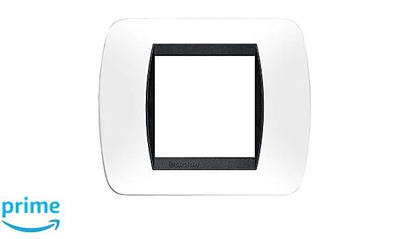 Montaje con Clips Bticino livinglight Soporte con 2/m/ódulos 71/x 71/cm