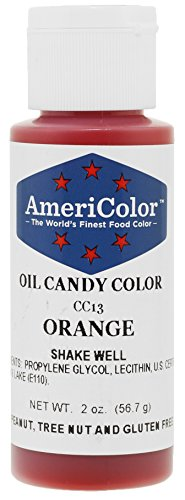 Orange Oil-Based Candy Color 2 Ounces by Americolor]()