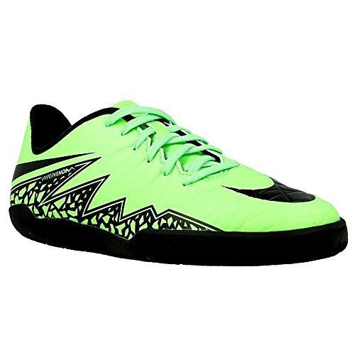 Nike - JR Hypervenom Phelon II - 749920307 - Couleur: Noir-Vert - Pointure: 27.5
