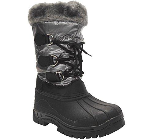Women's Mid Frost 7 Tec Snow Gray Boots Calf Snow wxqIapx