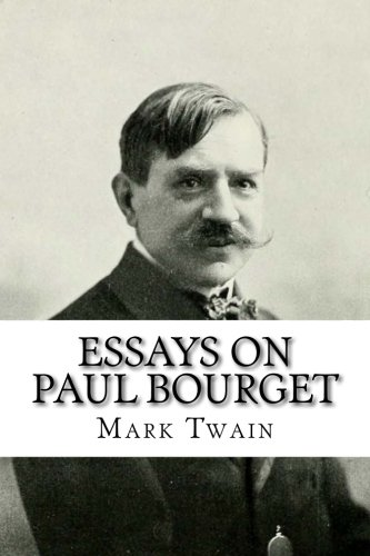 Download Essays on Paul Bourget ebook