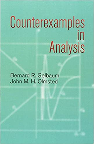 counterexamples in analysis john m h olmsted