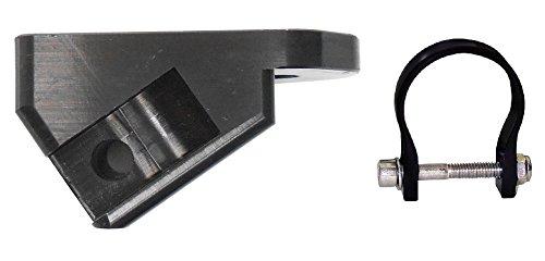 Axia Alloys Black A Pillar Light Bar Mount + 1.85' Clamp