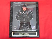 Undertaker WWE Collector Plaque #1 w/8x10 Photo NEW POSE!