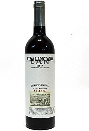 Viña Lanciano Reserva 2011, Vino, Tinto, Rioja, España: Amazon.es: Alimentación y bebidas
