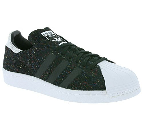Adidas Superstar 80s PK Schuhe 10,5 core black/ftwr white