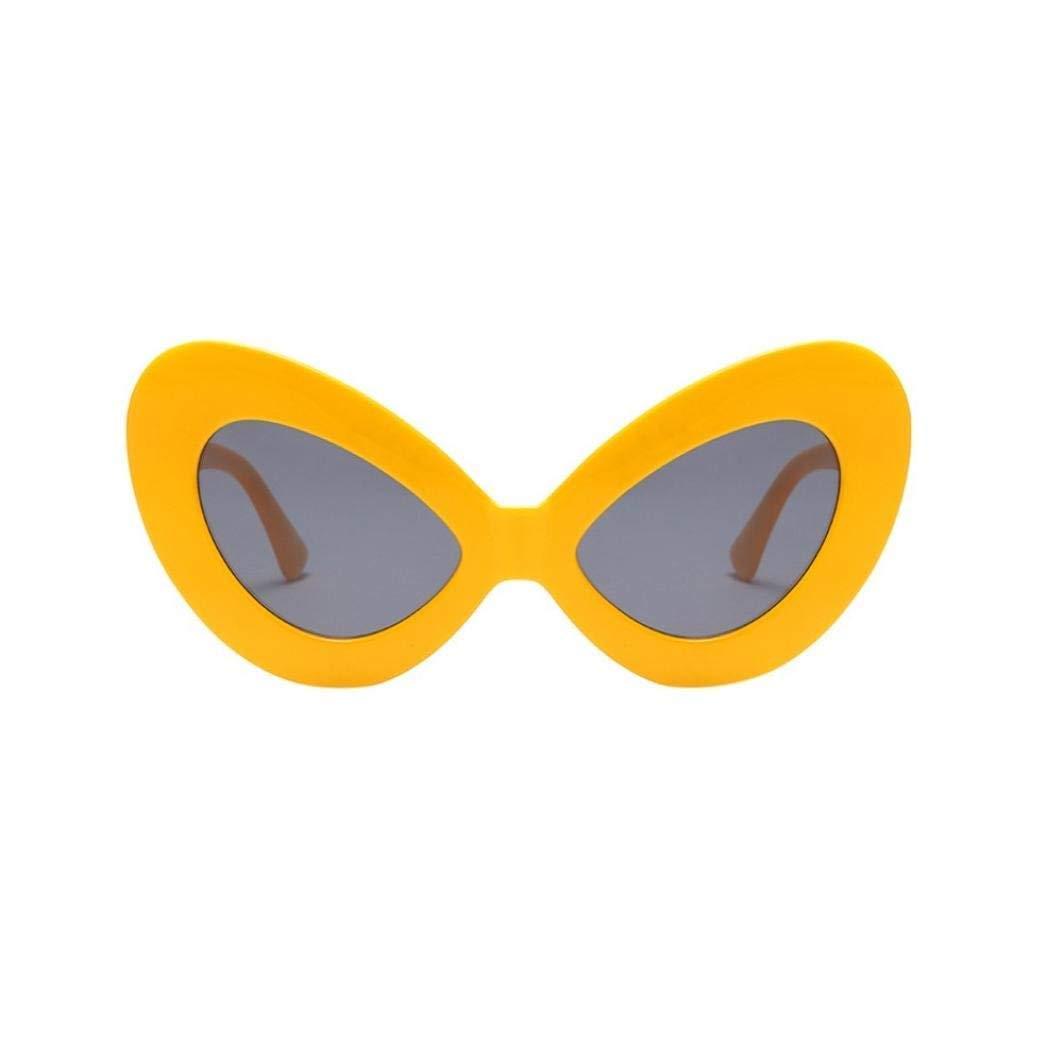 Qiusa Gafas polarizadas Gafas de sol para hombres Mujeres Gafas de seguridad Protección UV Gafas retro Claro para niños pequeños Niñas Damas Vintage Oval ...