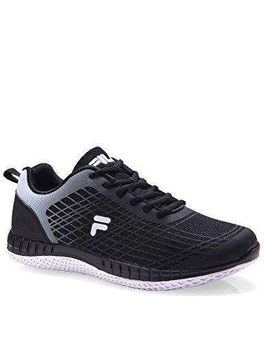 Fila Men's Men's Philly Running Shoes Black