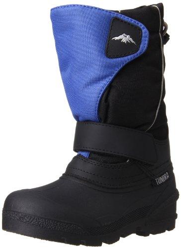 Tundra 492-40095 Boot,Black/Royal,12 M US Little Kid