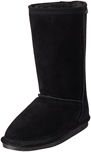 [BEARPAW  Emma Tall Youth Boot,Black,1 M US Little Kid] (Next Kids Boots)