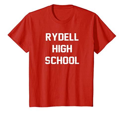 Kids Rydell High School T-Shirt 8 Red