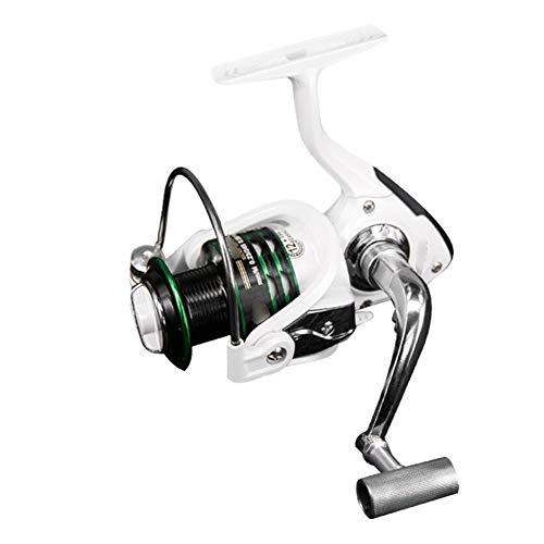 SH-QIAN Carrete De Pesca Rueca Giratoria Relación De Velocidad 5.2: 1 Peso Ligero Alisar Fuerza De Frenado 8 Kg Anticorrosivo Y Duradero Equipo De Pesca De Mar,2000 por SH-QIAN