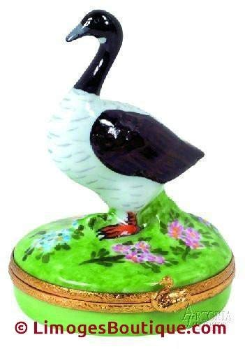 Canadian Goose - French Limoges Boxes - Porcelain Figurines Collectible Gifts ()