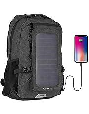 SunnyBAG Explorer+ 6 Watt Solar Rucksack Testsieger; Solarladegerät für Smartphone und Tablet; iPhone, Handy, Samsung Galaxy, Powerbank Akku, Anker, iPad unterwegs Laden