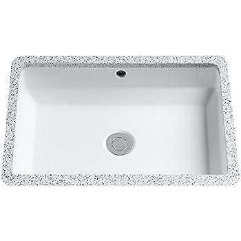 Toto lt156 01 vernica undermount bathroom sink Toto undermount bathroom sinks