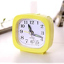 IREALIST Desk Alarm Clock with Snooze and Light, Silent with No Ticking Clock