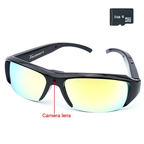ToughstyTM 1920x1080P Sunglasses Camcorder Recording