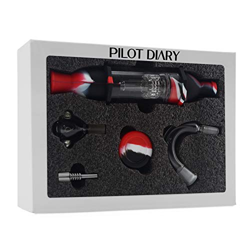 Pilot Diary Silicone Honey Straw Water Filtering 8.5