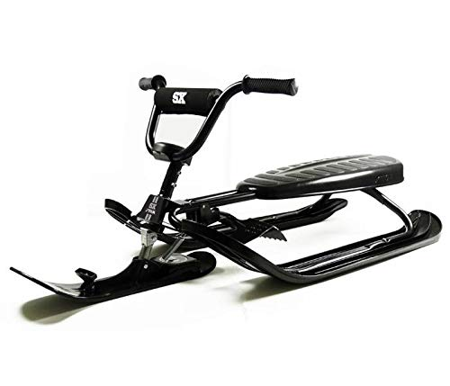 Curve SX Pro Snow Sled in Black