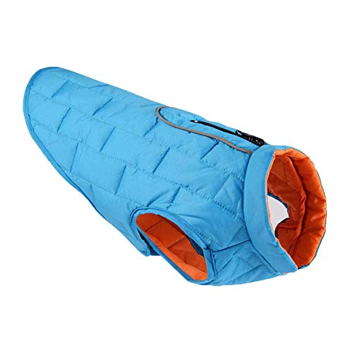 RSHSJCZZY Pet Dog Winter Outdoor Coats Waterproof Reversible Adjustable Vest Clothes Snowsuit Costumes