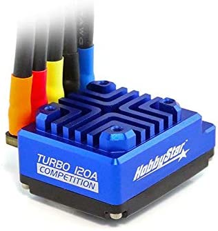 HobbyStar 160A 1//10 Competition Sensored ESC With Turbo//Boost Race Speed Control