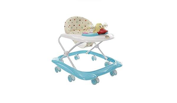 Meen Walker, Andador para bebé de 6/7-18 Meses, Plegable, portátil ...