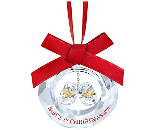 Swarovski Annual Edition 2016 Baby's First Christmas Ornament