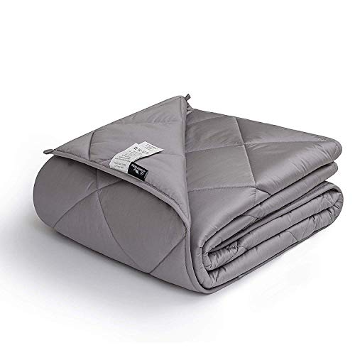 Cheap downluxe Weighted Blanket for Adult (12 lbs 48
