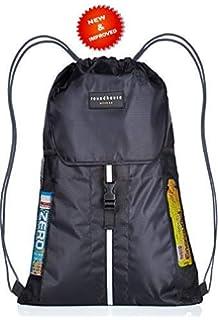 de7be3a40cef Premium Quality 5 Pocket Waterproof Unisex Gym sack Drawstring Bag Swimming  Bag School…