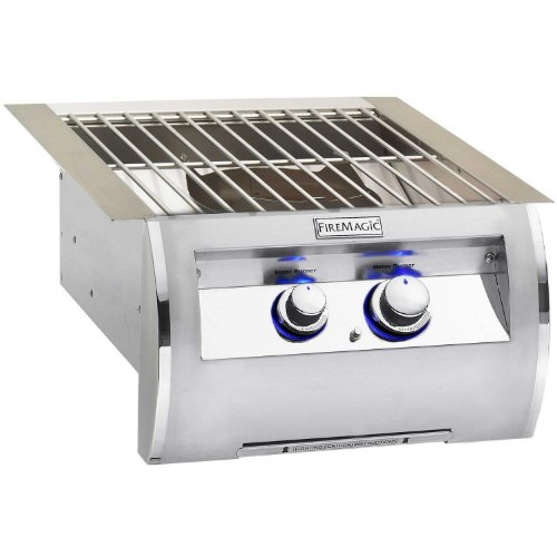 Fire Magic Echelon Diamond Power Burner with Stainless Steel Grid - Natural Gas
