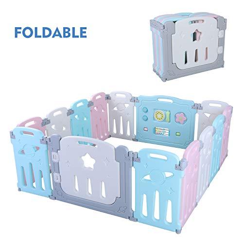 POTBY Star Pattern Foldable Baby...