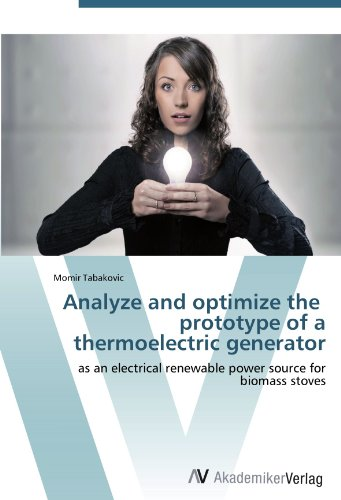 Analyze and optimize the prototype of a thermoelectric generator: as an electrical renewable power source for biomass stoves