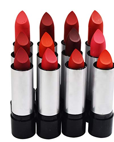 ADS Matte Lipstick-J113-01 with Adbeni Kajal- Red