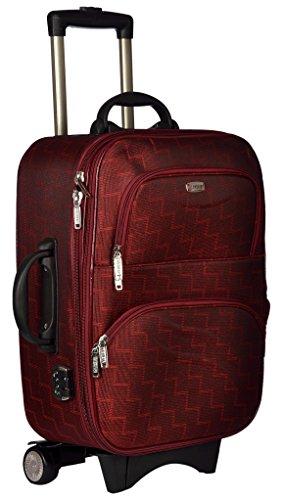 Trekker Polyester Matty 50 cms Red Softsided Cabin Bag  TTB ROYAL20 RED