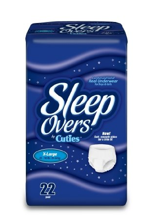 Sleep Overs® Youth Pant, XL (85 to 140 lb) - 88 ct. by First Quality