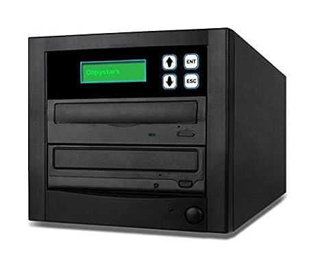 Copystars DVD Duplicator CD DVD Burner 1 to 1 Copier Sata Dual Layer Value Tower (Ideal Dvd Copy)
