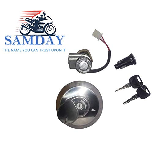 Samday Complete Lock Kit Set Compatible For Honda Dream Yuga Kt 2261hz Amazon In Car Motorbike