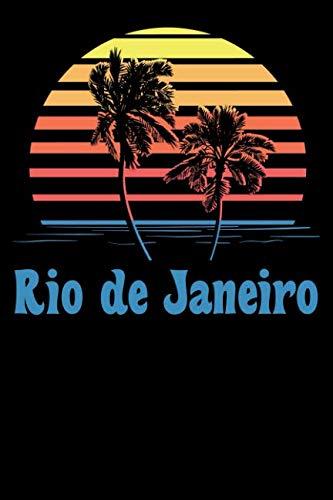Rio de Janeiro: Beach Lover's Journal with Beach Themed Stationary (6 x 9) (Planning A Trip To Rio De Janeiro)